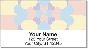 Flowering Heart Address Labels