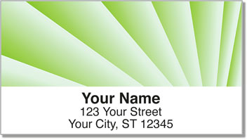 Rays of Light Address Labels