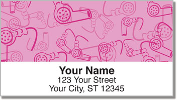 Girly Stuff Address Labels