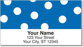 Polka Dot Address Labels
