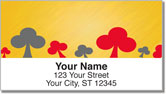 Playing Card Address Labels
