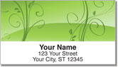 Peaceful Vine Address Labels