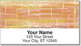 Painted Tile Address Labels