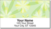 Pretty Petals Address Labels