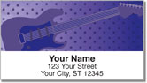Guitar Address Labels