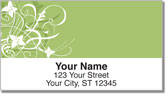 Floral Explosion Address Labels