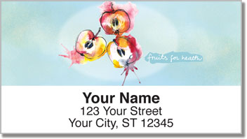 Fruits for Health Address Labels