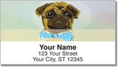 Dog Painting Address Labels