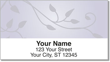 Violet Vine Address Labels