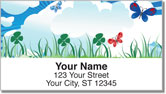 Cute Butterfly Address Labels
