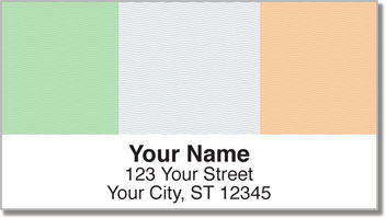 Luck of the Irish Address Labels
