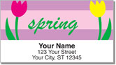 Four Seasons Address Labels