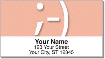 Text Me a Smile Address Labels