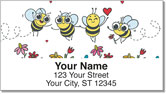 Busy Bee Address Labels