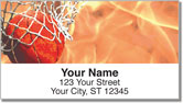 Shooting Hoops Address Labels