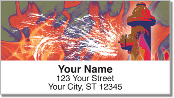 Firefighter Address Labels