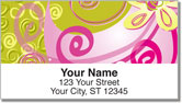 Floral Sketch Address Labels