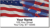 Colors of Honor Address Labels