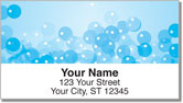 Bath Bubbles Address Labels