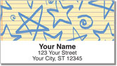 Cute Doodle Address Labels