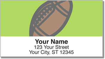 Sports Ball Address Labels