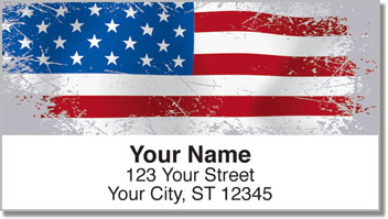 Flags of the World Address Labels