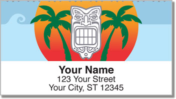 Tribal Mask Address Labels