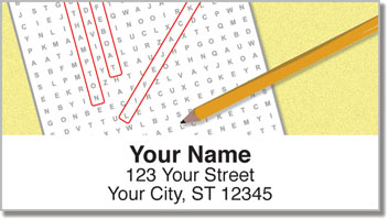 Brain Teaser Address Labels