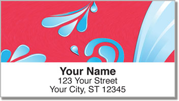 Splish Splash Address Labels