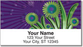 Groovy Garden Address Labels
