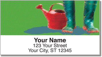 Gardening Address Labels