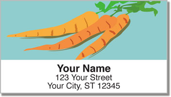 Healthy Eating Address Labels