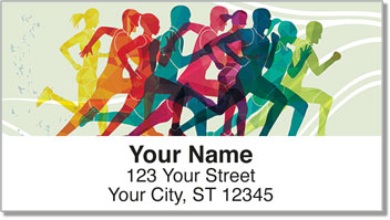 Joy of Running Address Labels