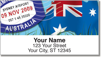 Passport Address Labels