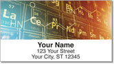 Periodic Chart Address Labels