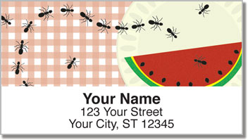 Picnic Ants Address Labels