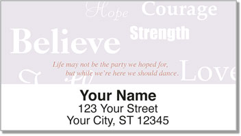 Words of Hope Address Labels