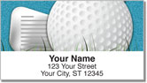 Gone Golfing Address Labels
