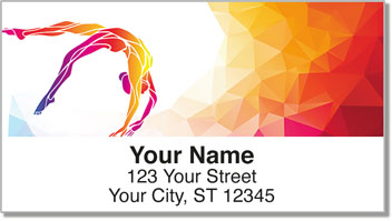 Gymnastics Address Labels