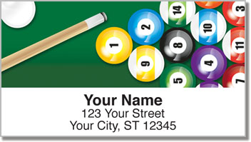 Pool Shark Address Labels