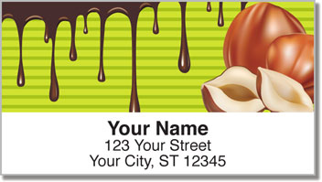 Chocolate Lover Address Labels