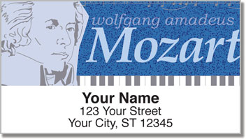 Classic Composer Address Labels