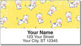 Cute Cow Address Labels