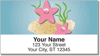 Silly Sea Life Address Labels