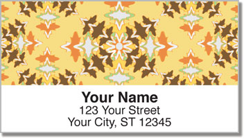 Spanish Tile Address Labels