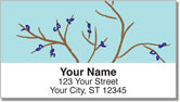 Tree Branch Address Labels