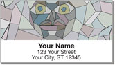 Stone Face Address Labels