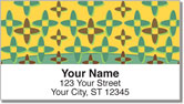Retro Panel Address Labels