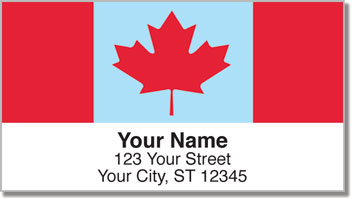 Canadian Pride Address Labels