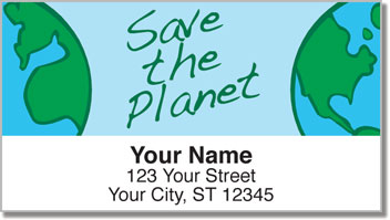 Recycle Address Labels